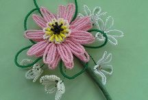 French Beading / French Beaded Flowers and Gifts made with tiny seed beads on wire