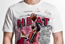 Miami Heat / Officially licensed NBA player graphic apparel for all of the Miami Heat top players.
