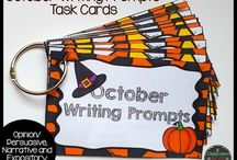Halloween ELA and Math Resources / Fun Halloween English Language Arts and Math resources for the elementary classroom.
