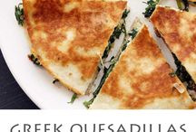 Greek food that Pinterest  has