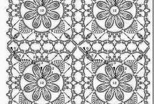 Crochet : motifs diagrams / by Florence Mierzwa-Klosinkski