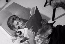 Famous people reading