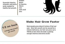 Healthy Hair / Hairgrowth / Haargroei