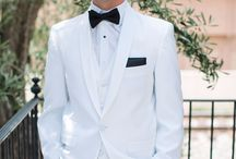 Groom Fashion Inspiration / Wedding day fashion inspiration for the groom.