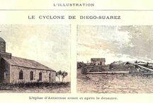 1894: cyclone à Diego Suarez, Madagascar
