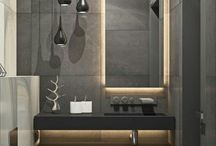 Interior design. Bathroom