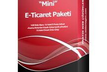 E-Ticaret Paketleri / Web Ortağım E-Ticaret Paketleri