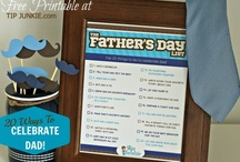Holidays - Father's Day Ideas / Ideas for gifts and other ways to make Father's Day special. / by Wisconsin Mommy