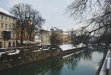 Ljubljana | / Ljubljana // Lubiana // Slovenia // city // travel // The city I love.