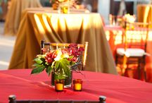 sunset theme wedding