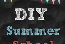 "Summer School ""College"" / For fourth-ish grade kiddos! Ideas for fun activities to keep skills sharp over the summer."