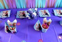 Frozen Birthday Party / Frozen Party Ideas
