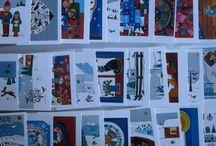 Winter drawings / Winter drawings and artprints