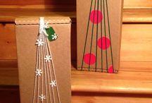 DIY Geschenk einpacken kreativ