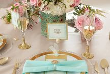 Mint Gold wedding