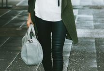 khaki fashion