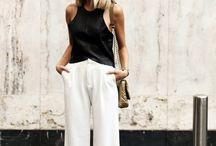 Looks pantalones anchos