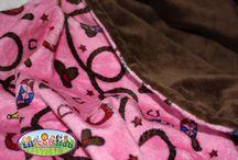 Etsy - Minky Blankets, Girls