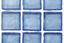 Ashland Series Solid Glass Mosaic