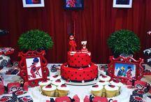 aniversário da ladybug