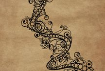 Zentangle|Doogle / ideas para hacer con zentangle
