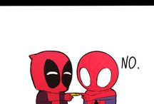 Spider Man and Deadpool