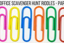 Biblical scavenge hunt