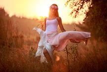 Plenery:) / Piękna Ola o wschodzie słońca