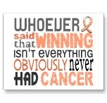 Uterine cancer survivor