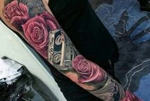 Tatueringar sleevs