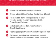 Yankee Candle Stop & Smell / by Alicia Murphy