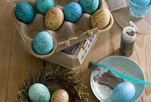 cottontails and easter eggs / by Alexandra Bruch
