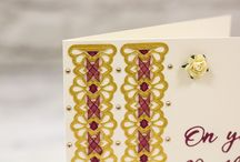 Die'sire Classiques Ribbon Threading Dies / Our unique range of Die'sire Classiques Ribbon Threading dies are thoughtfully designed to give you intricately detailed designs that can be used on their own - or thread ribbon through the die-cut shapes for an elegant effect! The dies are sized well for both large-format projects like scrapbook pages and handmade gift packaging as well as smaller papercraft projects like cards and bookmarks!