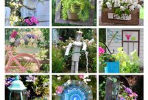 Best Garden Junk Ideas / DIY