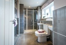 Bathroom favourites / A selection of some of our show home bathrooms.