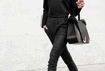 Total black styles