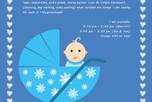 Babysitting Info