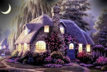 ♡ Sweet Lavender Cottage ♡ / by Toynette