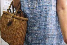 Saori Clothing Ideas / Saori hand woven fabric clothing