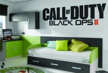 Boys call of duty bedrooms
