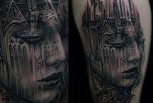 Radjah Toeboeh / Full Body Tattoo