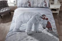 Winter Bedrooms Festive For Christmas / Put a bit of winter wonderland into your own bedroom and get into the holiday season by simply changing your duvet cover and pillow case. Here's some of our favourite gorgeous bedlinen sets that bring festive feels to any bedroom and not just for children!