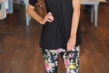 Closet - Leggings / Jeggings / Work outfits with leggings / jeggings