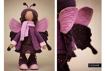Butterfly doll