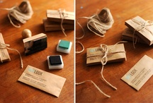 beautiful business cards / by Step Up