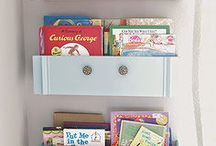 Books and storage ideas