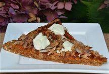 Gezonde pizza en quiche bodems