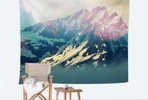 Wall Tapestries / by WallsNeedLove
