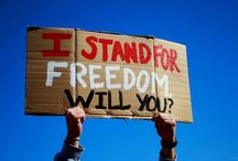 Stand For Freedom / On April 9th, hundreds of college campuses and churches across 40 US states and 8 countries literally stood for 24 hours in honor of the 29.8 million enslaved today. Thank you to all of you who stand for freedom.