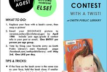 Book events and contests